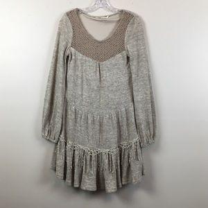 Anthropologie | A'reve Cream Lace Dress | Medium